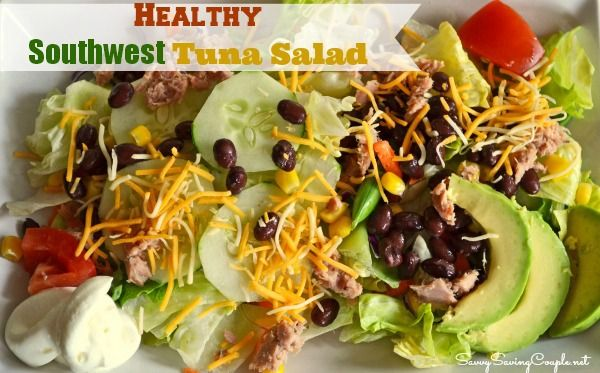Healthy Southwest Tuna Salad Recipe *Featuring StarKist Tuna Creations®