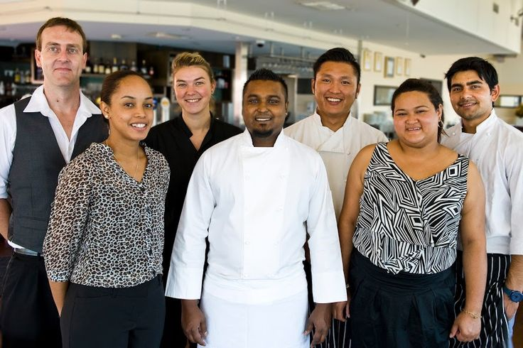 The Team behind all the wonderful food, service and everything at The Mussel Bar, Fremantle