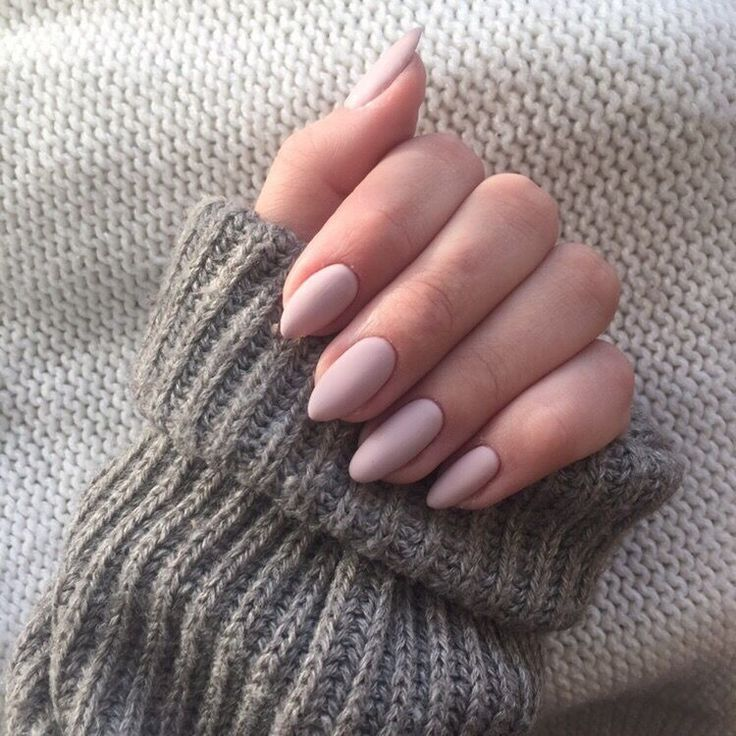 60 Classy Nude Nail Art Design for Winter
