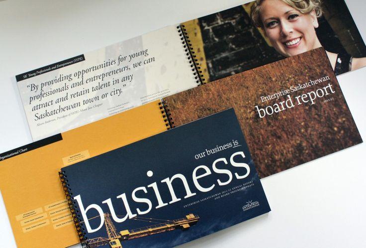 Saskatchewan Archives Board Annual Report - Annual Report design - board report