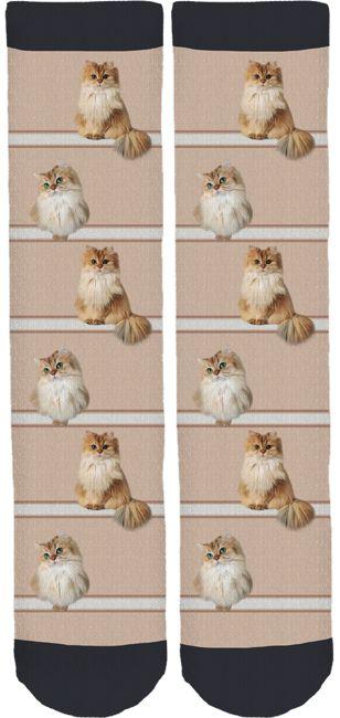 Smoothie The Cat Crew Socks