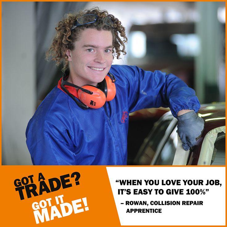 Follow your PASSION with an #apprenticeship. See how Rowan has GOT IT MADE! #GotATradeWeek https://youtu.be/3fpGuGjnxG0