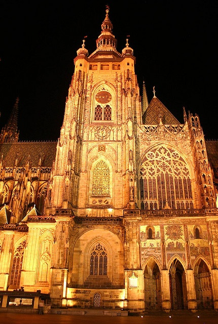 St. Vitus Cathedral, Czech Republic, Prague
