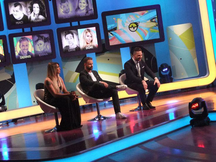 A három finalista (Valóvilág 7) Fotó: Vásárhelyi Dávid - Hír7