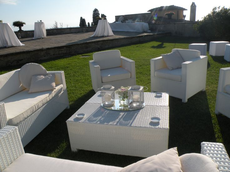 White Fusion Garden  or lounge furniture / Arredamento lounge o da giardino Fusion Bianco #guidilenci All Rights Reserved GUIDI LENCI www.guidilenci.com