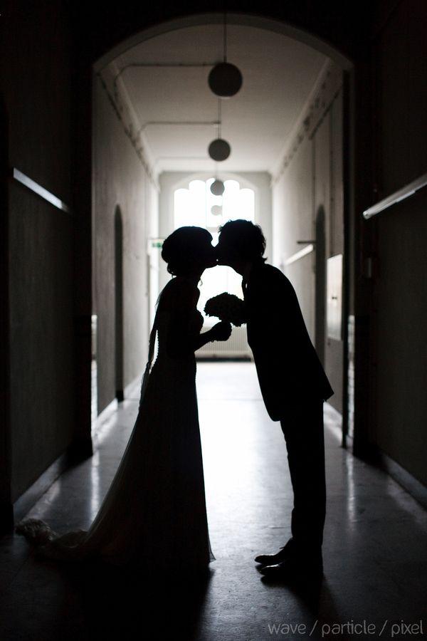 Kuss im Dunkeln #kiss
