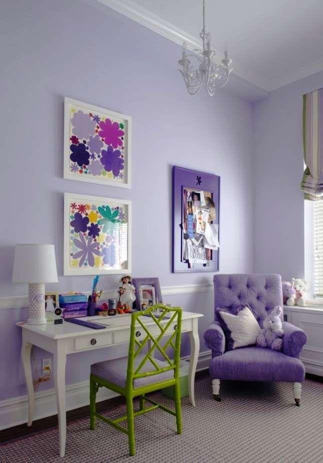 Idee per arredare la camera da letto con il color lavanda (Foto 29/40) | Designmag