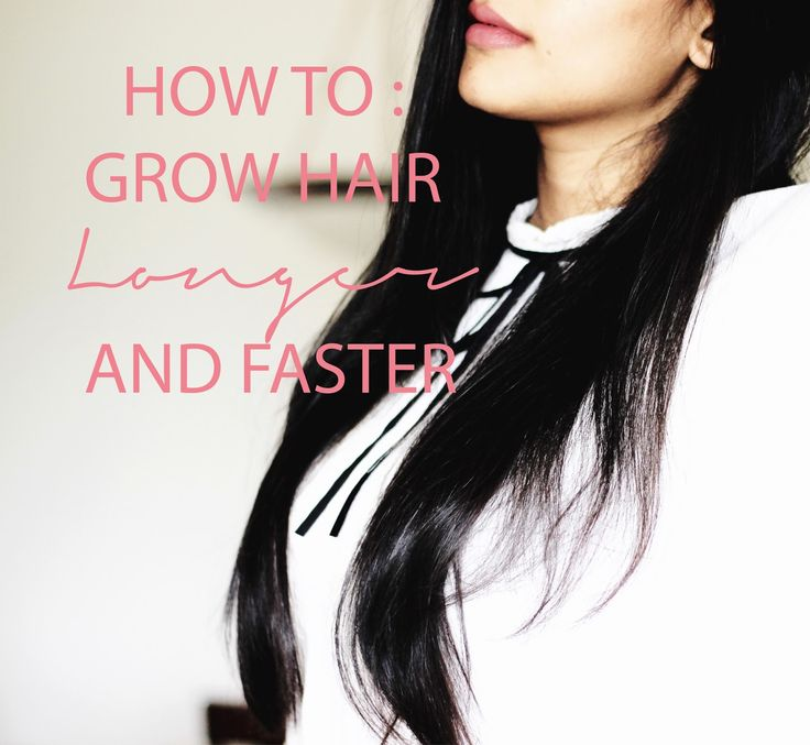 how to help your hair grow longer faster