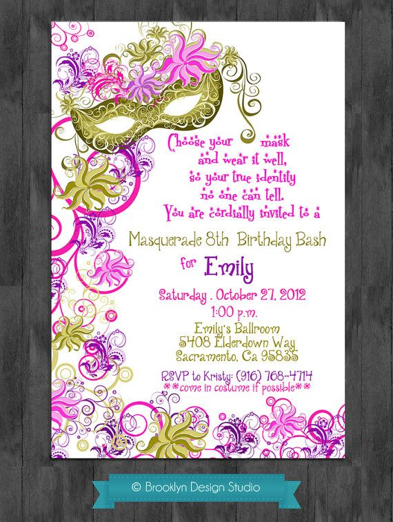 17 best Sumayas Princess Tiana Party images – Princess Tiana Party Invitations