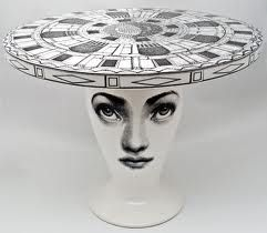 Definitely A Conversation Starter. This Fornasetti Table Could Inspire Not  Merely A Room Design But An Entire Lifestyle.