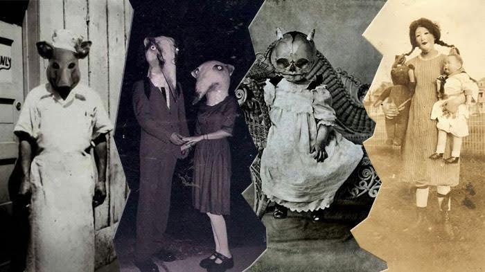 20 Kostum Halloween Menakutkan, Bikin Kamu Bergidik Saat Perhatikan Fotonya!