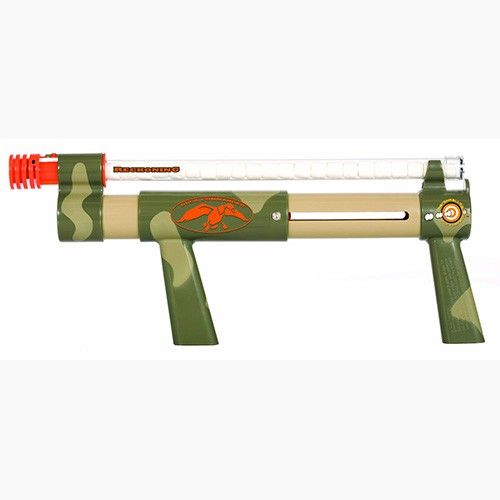 Take Uncle Si's words of wisdom to heart the next time you go hunting for s'mores with Si's Marshmallow Shooter. This pump-action marshmallow gun fires mini marshmallows up 30 feet.