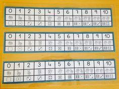 Esta recta numérica se realiza para que sirva de tránsito entre la representación numérica por símbolos y la representación por signos (los...
