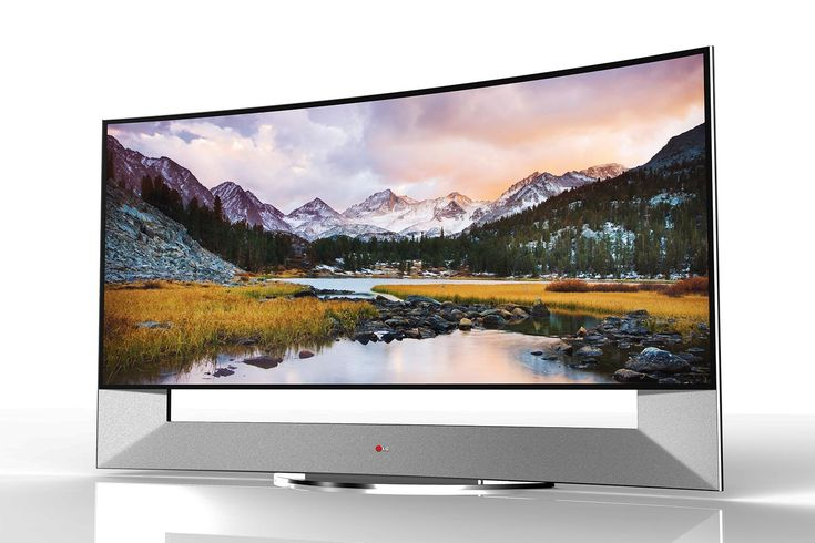 LG's 105-inch curved 4K TV