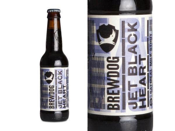 BrewDog Jet Black Heart Oatmeal Milk Stout - Yuppiechef