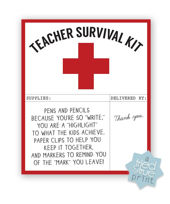 Best 25+ Teacher survival ideas on Pinterest Survival kit for - free printable templates for teachers