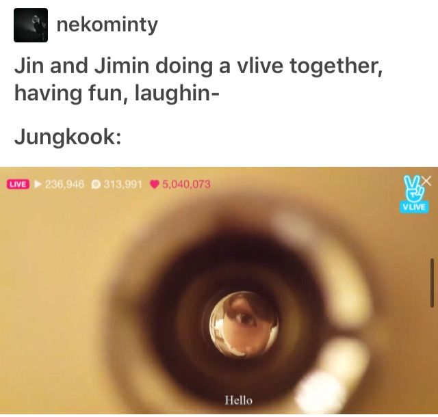 Maknae just wants to play with his hyungs too