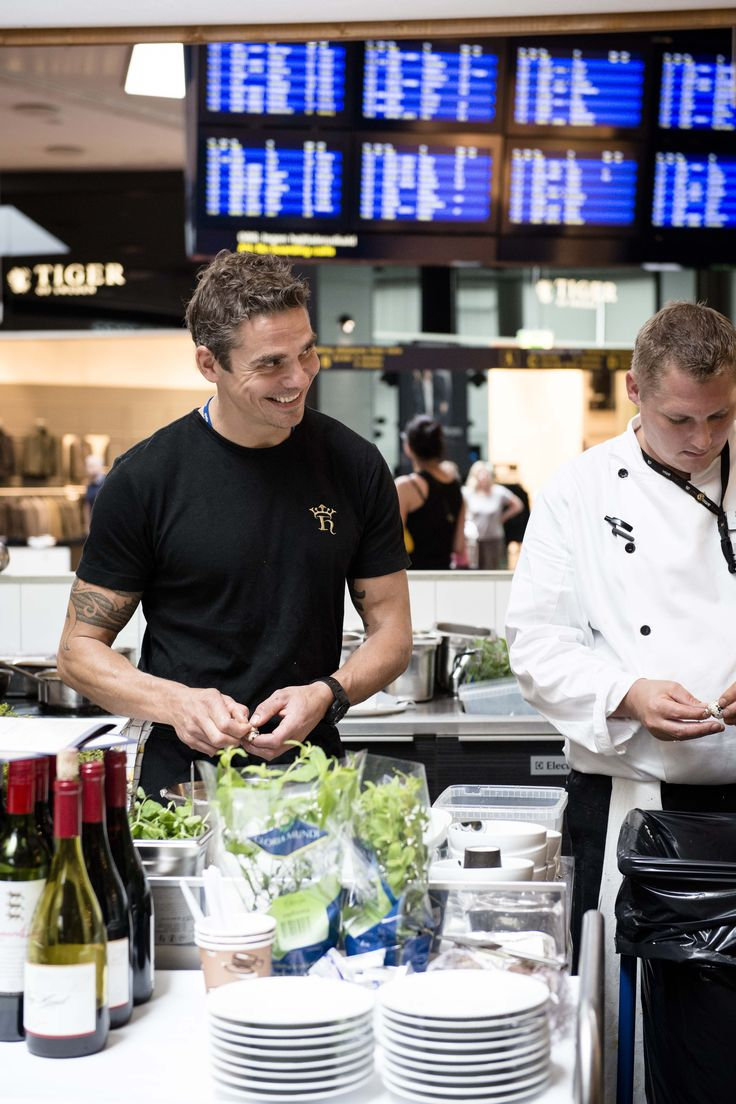 Thomas Rode at CPH Nordic Dining. Thank you for two fantastic weeks in Copenhagen Airport!