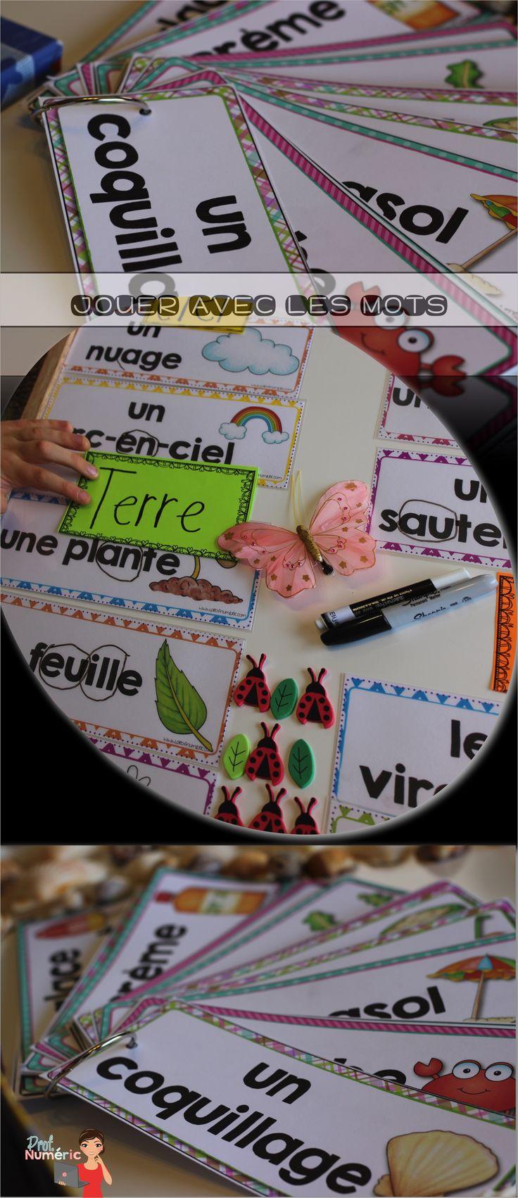 Quelques idées d'utilisation des mots-étiquettes en salle de classe primaire. #daily5 #littératie #lecture #fun