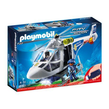 Dzisiaj polatamy za przestępcami i złodziejami:)    Policyjny helikopter dla dzieci od lat 4 z zestawu Playmobil 6921 z reflektorem LED doskonale sprawdzi się przy patrolowaniu miasta z powietrza.      Siądź za sterami maszyny i daj poczuć przestępcy, że nie ukryją się przed Tobą w nocy, w ciemnych uliczkach miasta.    Figurami w nich nie rzucajcie:)    http://www.niczchin.pl/playmobil-city-action-zycie-w-miescie/3702-playmobil-6921-helikopter-policyjny-z-reflektorem-led.html