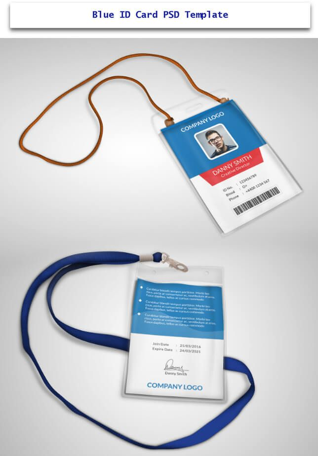 7 best id card design images on Pinterest Brand design, Branding - id card psd template