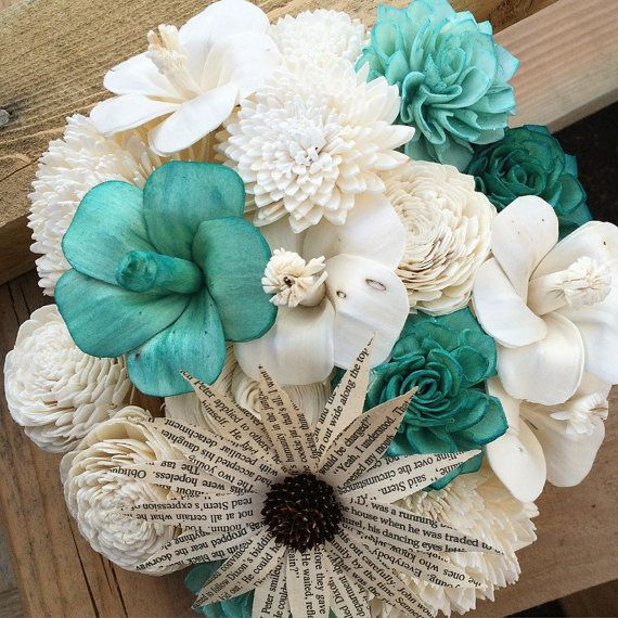 Sola Bouquet Made Of Sola Flowers Paper Flowers By