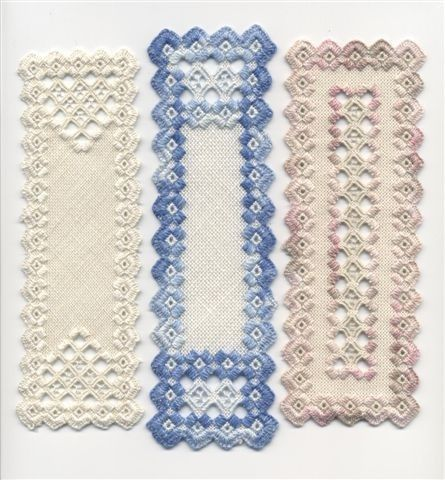 Hardanger Bookmarks - Beautiful Beginnings | by schaumburg20