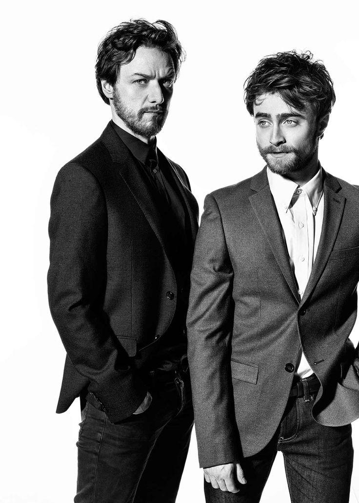 JAMES MCAVOY & DANIEL RADCLIFFE BY SARAH DUNN http://www.sarahdunn.com/portfolio/victor-frankenstein-specials/
