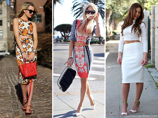 Our fashion blogger shows you how to keep matching separates fresh and fun. #fashion #separates #style