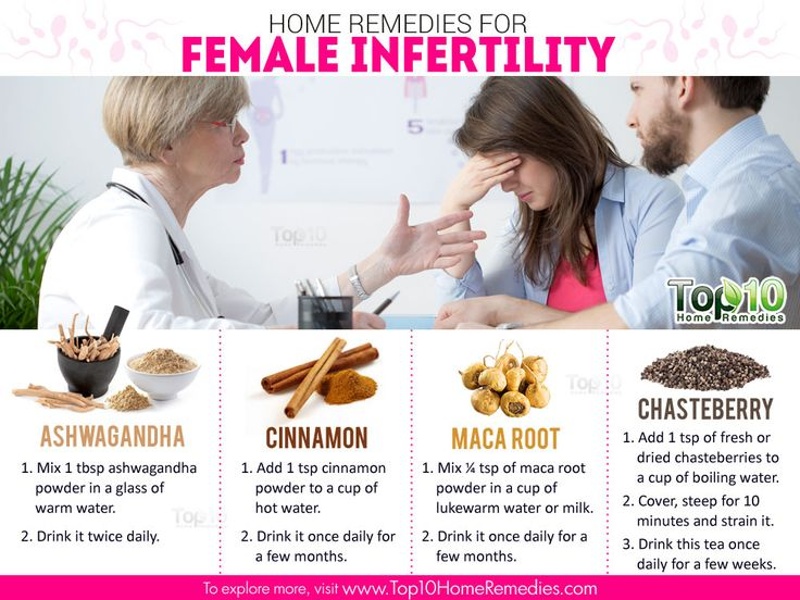 home remedies for female sterility