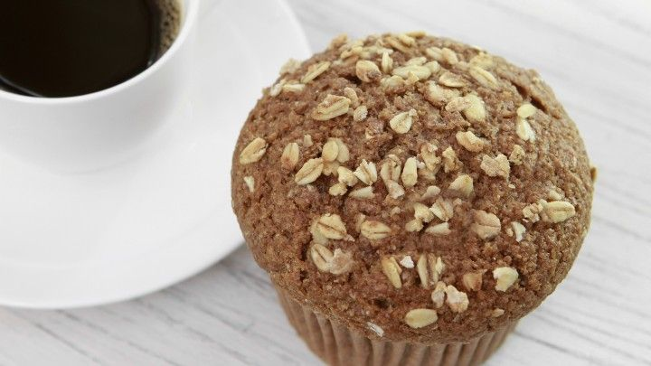 Pear and Oat Muffins