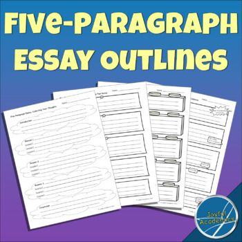 graphic regarding Five Paragraph Essay Outline Printable identified as Essay Outlines for 5 Paragraph Essays 3rd Quality