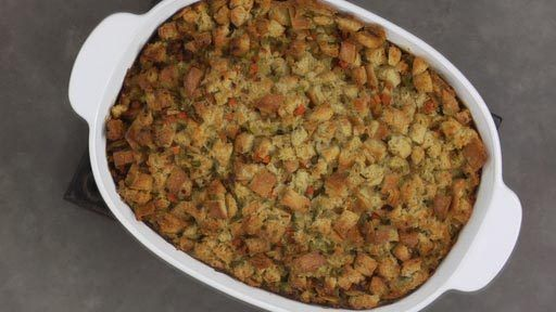 Traditional Stuffing  | Rouxbe Cooking School