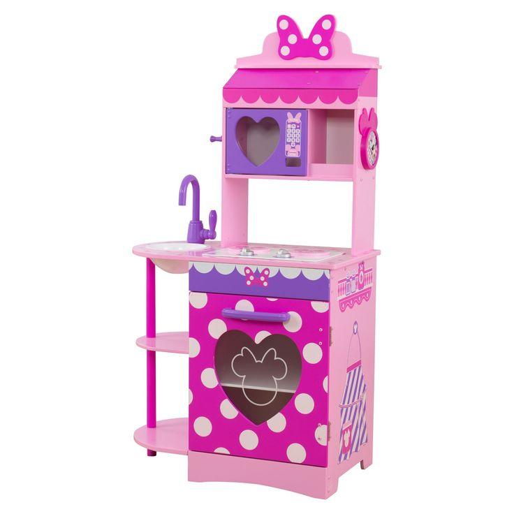 KidKraft Disney Jr. Minnie Mouse Toddler Kitchen