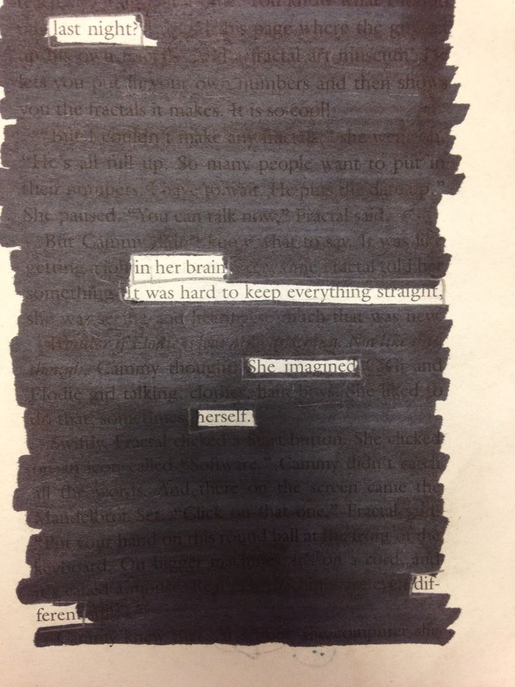love  teach  blackout poetry for the win