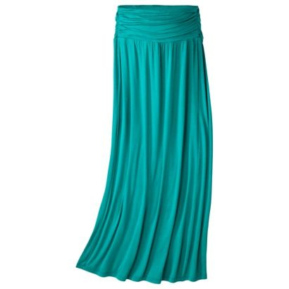 Liz Lange® for Target® Maternity Gathered-Waist Maxi Skirt - Assorted Colors - turquoise and light purplish gray are cute. Already own a black maxi skirt.
