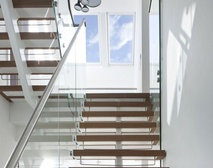 Scala moderna e illuminata salire in mansarda pinterest - Escalier loft lapeyre ...
