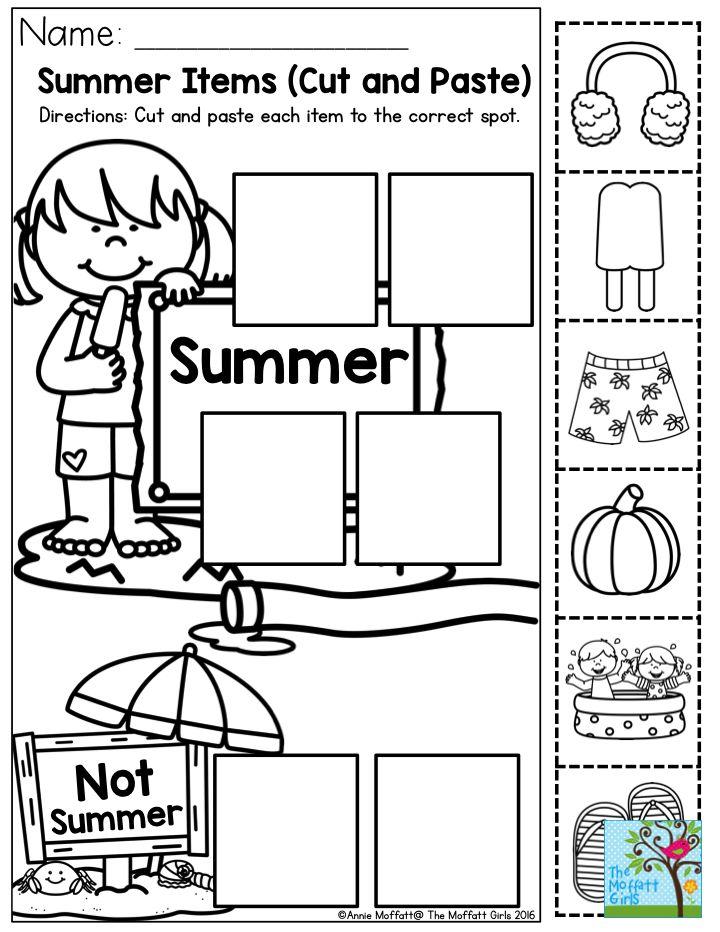 best 25 cut and paste ideas on pinterest kindergarten age letter i activities and. Black Bedroom Furniture Sets. Home Design Ideas