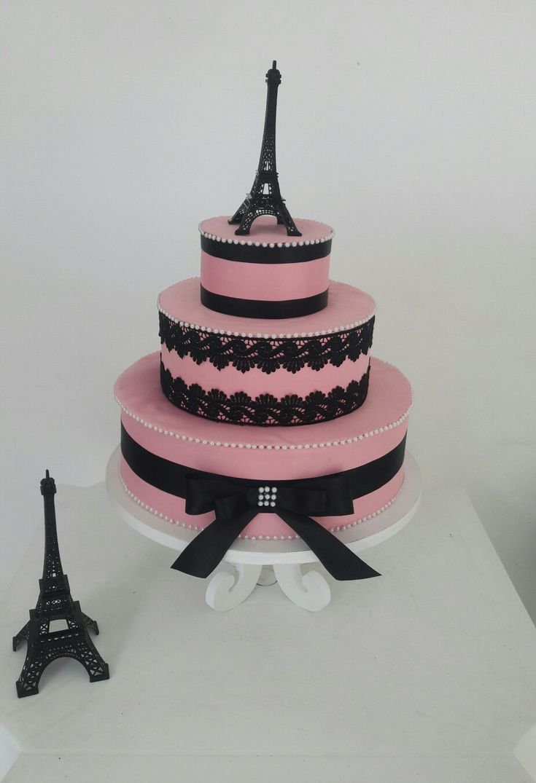 Bolo fake Paris, feito por DanyBatista.