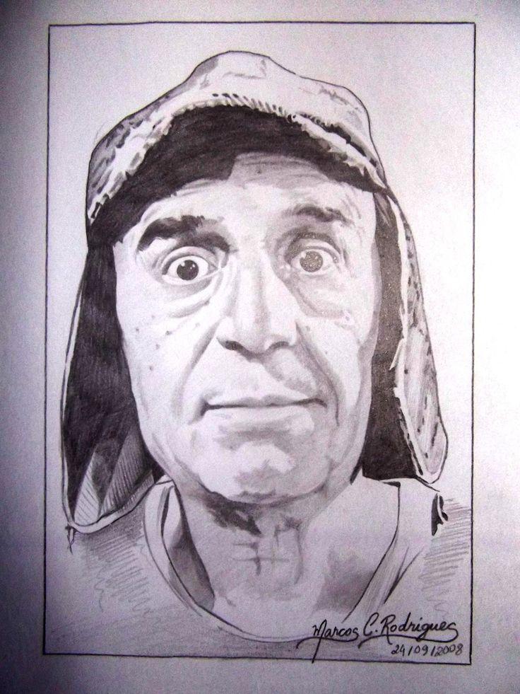 Desenhos a lápis 'Chaves'