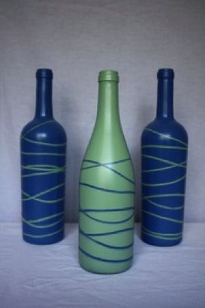 Glass Bottle DIY.. So funky!
