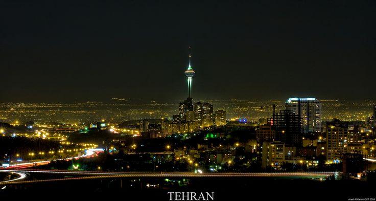 Iran | Tehran Telecommunication Tower. credit: arash_rk. view on Fb https://www.facebook.com/SinbadsIranPocketGuide  #MyIran #Iran #TravelToIran #travel