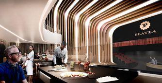 PLATEA. Próximamente, Platea Madrid será un lugar de encuentro versátil, donde además de comprar y degustar se podrá disfrutar de los sabores del Mundo. http://www.plateamadrid.com