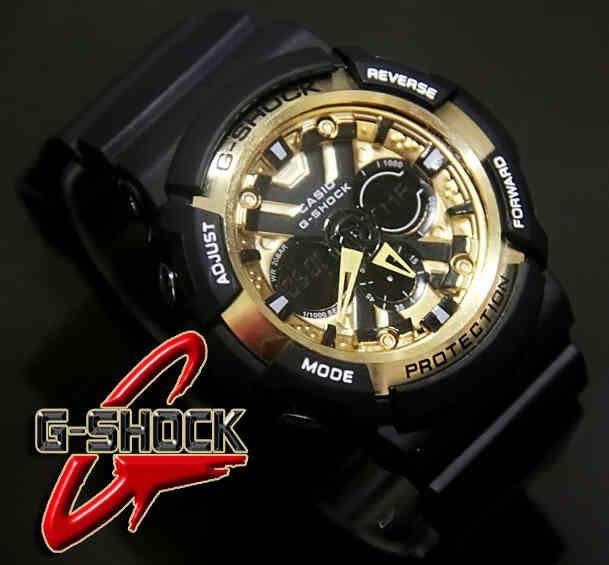 CASIO G-SHOCK GA200X  (Code: 4OS152;@180.000) Jam Tangan Pria. Kombinasi Analog Digital. Mesin Batere. Black Gold Band. Menunjukkan integritas karakter AGAN sebagai pria yang elegan, fashionable, dan berkelas. SMS: 08531 784 7777 PIN: 331E1C6F www.butikfashionmurah.com