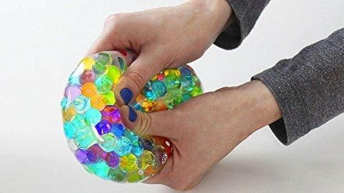 Make Stress Ball with 3600 Amazing Squisheez (TM ) water beads (Mix)