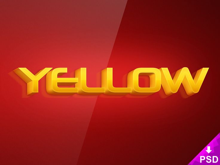 Yellow Text Style