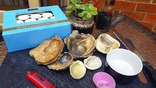 Lila's Spot.: Sea Shell Candles // D.I.Y