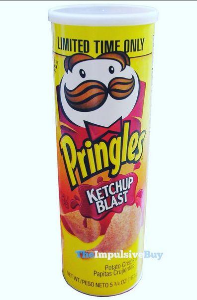Pringles Ketchup Blast