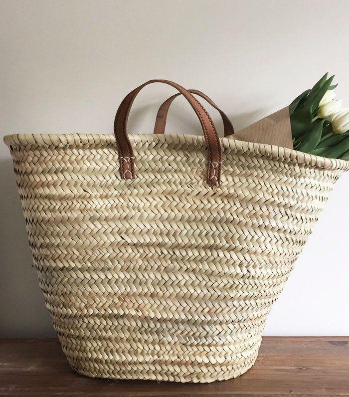 Zara and Mango Just Released the Perfect Summer Basket Bags via @WhoWhatWearUK