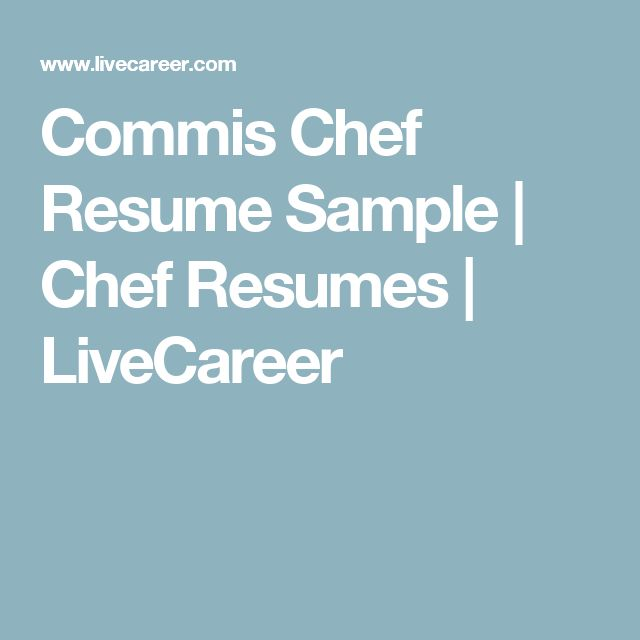 The 25+ best Chef resume ideas on Pinterest Cv design - the best font for resume